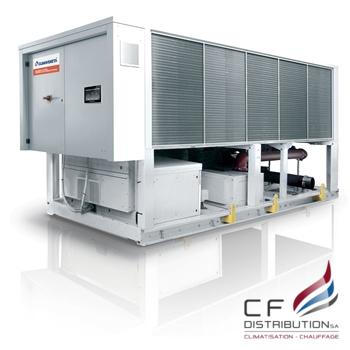 Image RC – CLIMAVENETA CONFORT GROUPE FROID REFOIDIT A AIR AVEC FREECOOLING TECS-FC 0211 – 1204