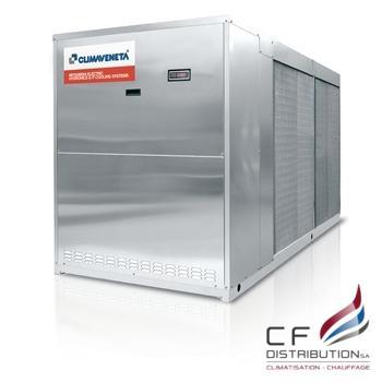 Image RC – CLIMAVENETA CONFORT POMPE A CHALEU AIR/EAU NECS-N 0202T – 0612T
