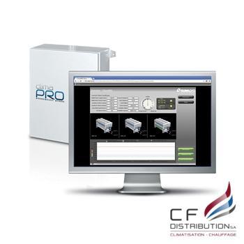 Image RC – CLIMAVENETA PROCESS SYSTÈME DE CONTROL BMS (BUILDING MANAGEMENT SYSTEM) ClimaPRO