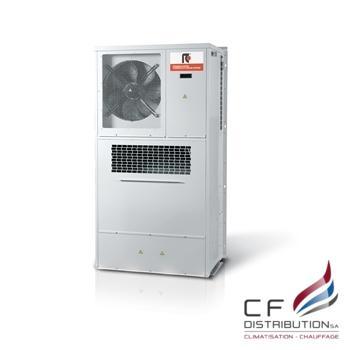 Image RC IT REFROIDISSEMENT ARMOIRE DE CLMATISATION EXTERIEURS COMPACT POUR LES TELECOM MINIPAC  EVO INV  0021 – 0071